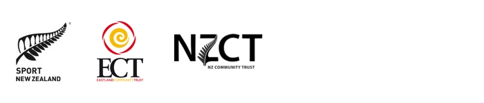 logos of NZCT, ECT and Sport NZ who fund the coaches passport