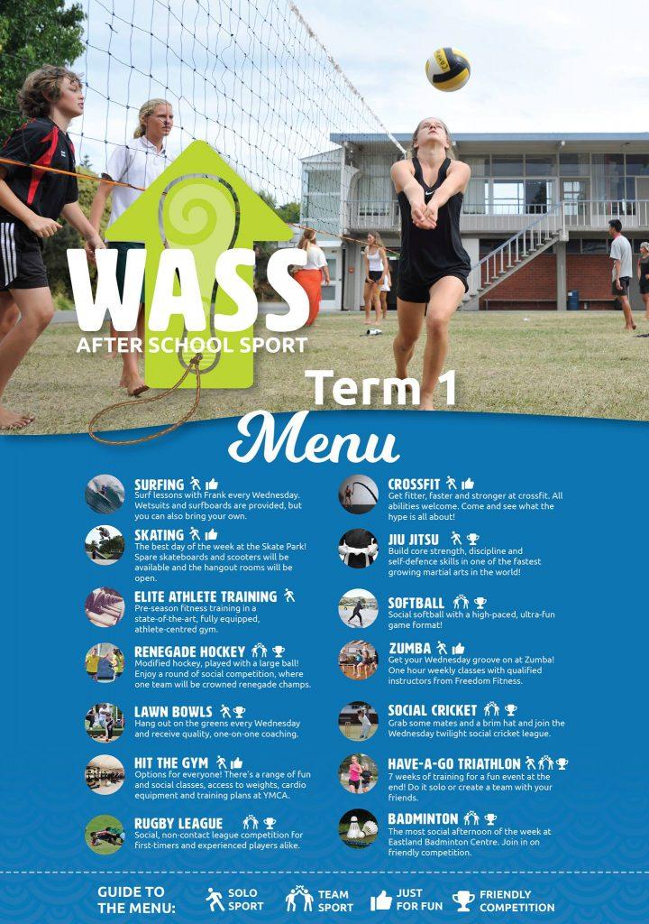 WASS Term 1 Menu