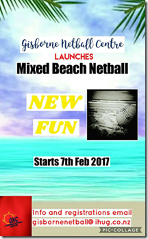 Beach netball