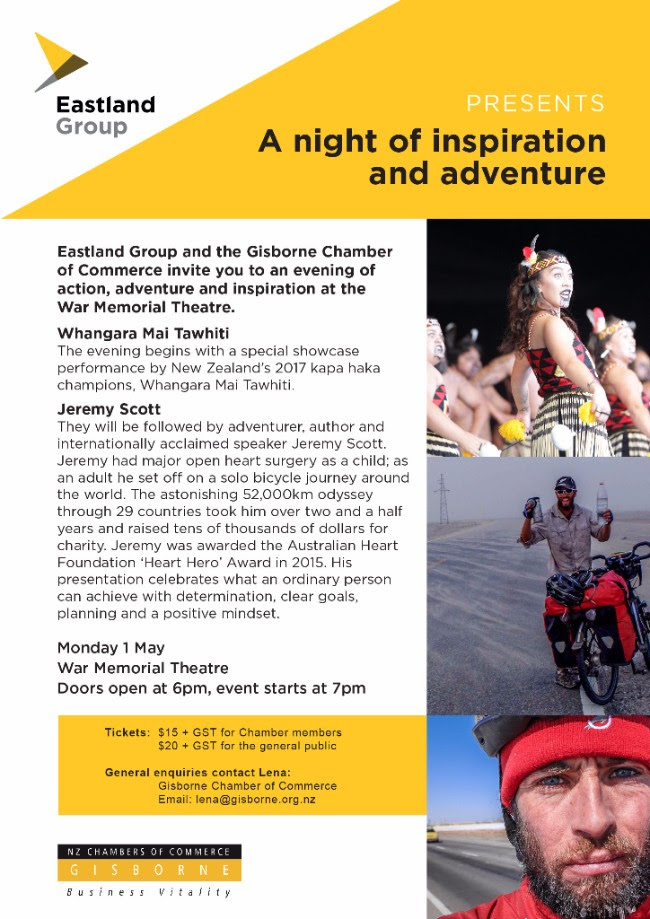 Chamber of Commerce - A night of inspiration and adventure
