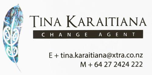Tina Karaitiana Logo