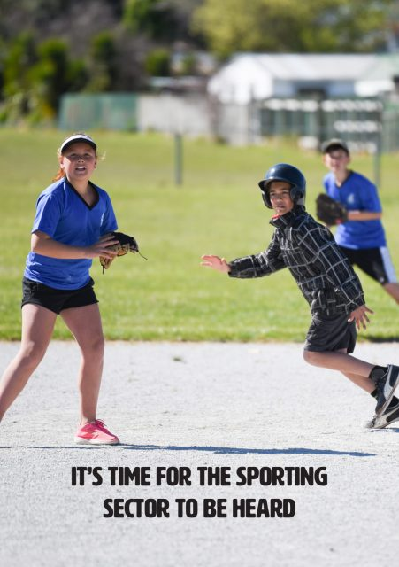 It's time for the sporting sector to be heard